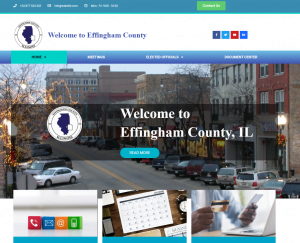 Municipal Website Design by SnapSite us